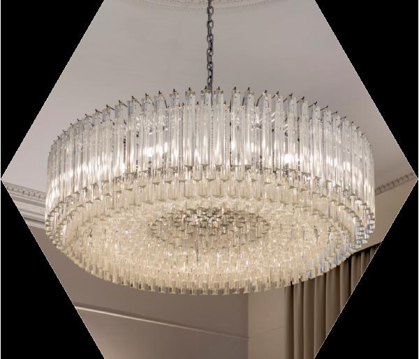 interior-design-hexagon-chandelier